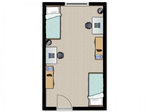 Hatfield-Square-Sharing-bedroom