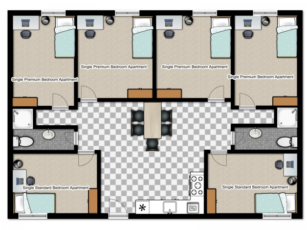 Saratoga-Village-Single-Premium-Bedrooms