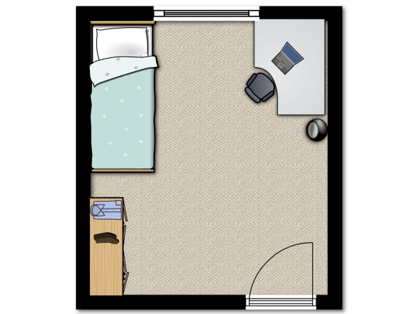 Yale-Village-Single-Bedroom