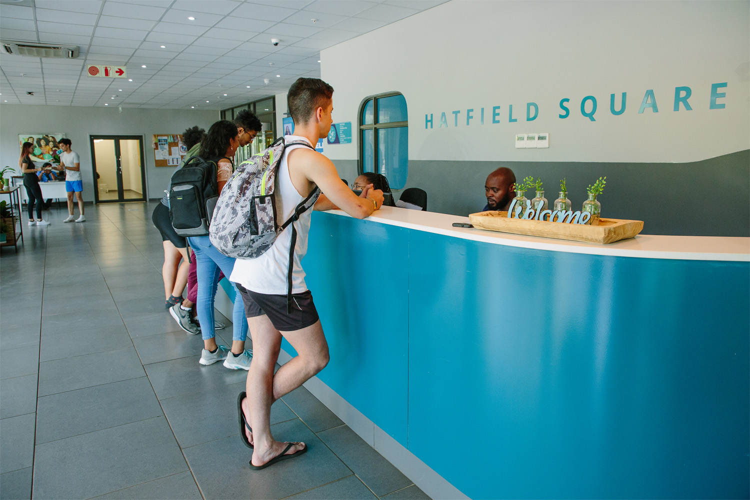 Hatfield_Square_Reception